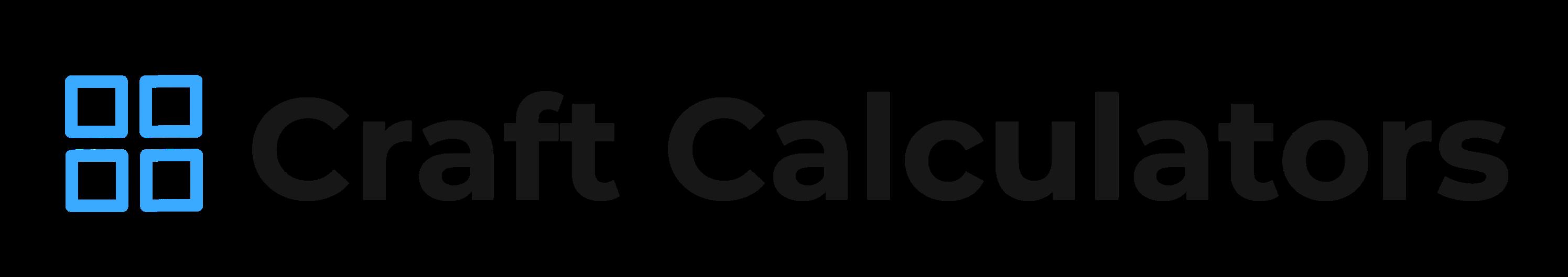 Craft Calculators